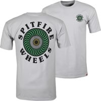Spitfire OG Classic Fill T-Shirt - silver/green/yellow