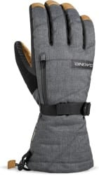 DAKINE Leather Titan GORE-TEX Gloves - carbon