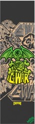 MOB GRIP Gwar Clear Graphic Skateboard Grip Tape - black/clear