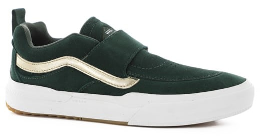 Vans Kyle Walker Pro 2 Slip-On Shoes - (shake junt) forest/gold - view large