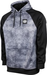 686 Bonded Fleece Hoodie - charcoal wash colorblock