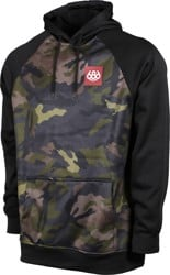 686 Bonded Fleece Hoodie - surplus utility camo colorblock