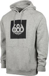686 Borderless Knockout Hoodie - athletic heather