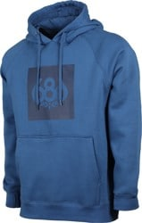 686 Borderless Knockout Hoodie - blue storm