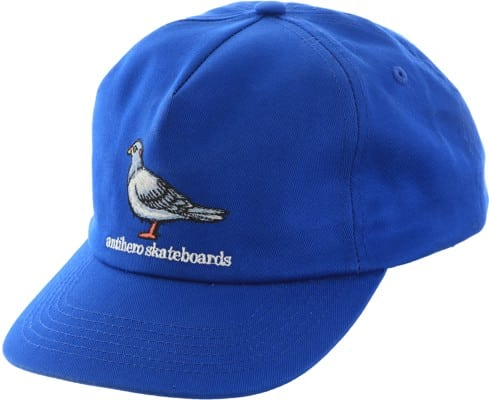 Anti-Hero Lil Pigeon Snapback Hat - royal - view large