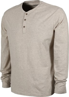 Patagonia Organic Cotton Lightweight Henley L/S T-Shirt - birch white - view large