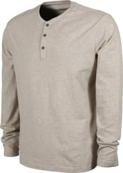 Patagonia Organic Cotton Lightweight Henley L/S T-Shirt - birch white
