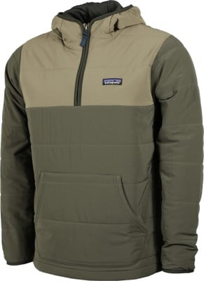Patagonia Pack In Pullover Hoody Jacket - basin green - view large