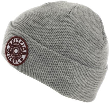 Spitfire Classic 87' Swirl Beanie - heather grey/white/burgundy - view large