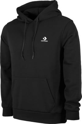 Converse Star Chevron Embroidered Hoodie - converse black - view large