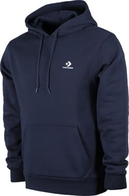 Converse Star Chevron Embroidered Hoodie - obsidian - view large
