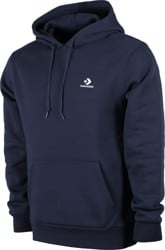Converse Star Chevron Embroidered Hoodie - obsidian