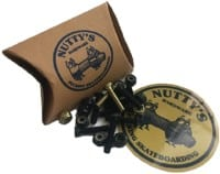 Nutty's Hardware Phillips Skateboard Hardware - black/gold