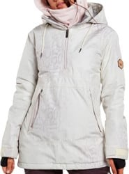 Volcom Fern Gore-Tex Pullover Insulated Jacket - bone snake