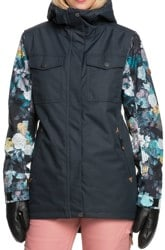 Roxy Ceder Insulated Jacket - true black sammy