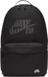 Nike SB Icon Backpack - (bts gfx) black/black/white