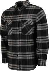 Brixton Bowery X Flannel Shirt - black/charcoal