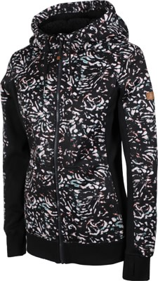 Roxy Frost Printed Hoodie - true black izi - view large