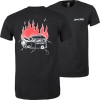 Lowcard Burning Van T-Shirt - black