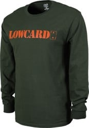 Lowcard Standard L/S T-Shirt - forest green