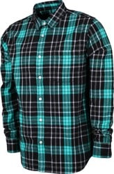 Obey Lester Flannel Shirt - black multi