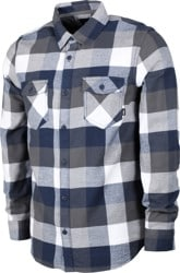 Vans Box Flannel - white/dress blues