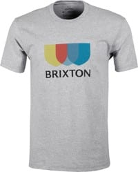 Brixton Alton II T-Shirt - heather grey