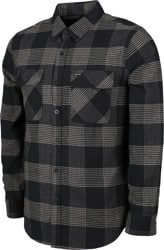 Brixton Bowery Flannel - black/steel