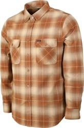 Brixton Bowery Flannel - copper