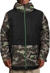 Volcom Deadly Stones Insulated Jacket - army camo
