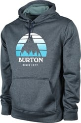 Burton Oak Hoodie - seasonal dress blue heather