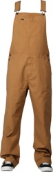RVCA Chainmail Overall Pants - camel