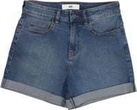 Vans Women's Barrecks High Waist Cutoff Shorts - archive wash