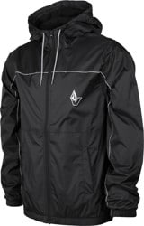 Volcom Ermont Windbreaker - black/white