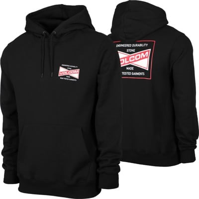 Volcom Supply Stone Hoodie - black/red/white - view large