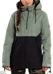 Volcom Fern Gore-Tex Pullover Insulated Jacket - dusty green