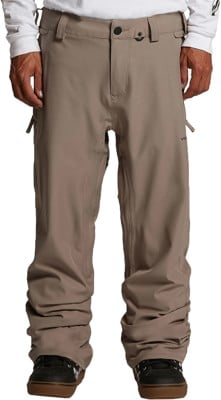 Volcom Freakin Snow Chino Pants - teak - view large