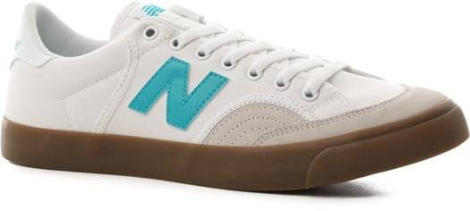 New Balance Numeric 212 Skate Shoes - white/gum ii - view large