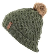 Roxy Blizzard Beanie - bronze green