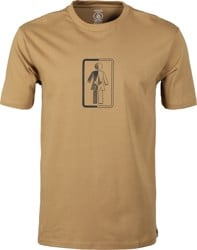 Volcom Girl Box It Up T-Shirt - sanddune