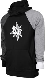 Volcom Hydro Riding Hoodie - black check