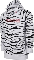 Volcom Hydro Riding Hoodie - white tiger