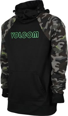 Volcom Hydro Riding Hoodie - army camo - view large