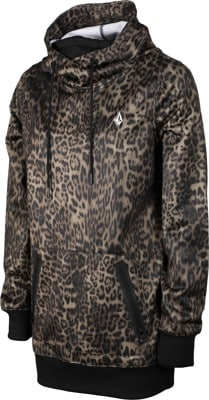 Volcom Spring Shred Hoodie - leopard - view large