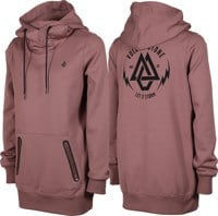 Volcom Spring Shred Hoodie - rose wood