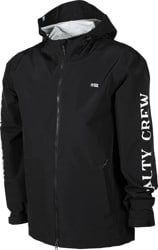 Salty Crew Pinnacle Shell Jacket - black