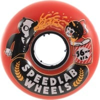 Speedlab NastyBoh Skateboard Wheels - red (87a)