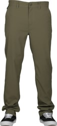 Brixton Choice Chino Taper X Pants - military olive