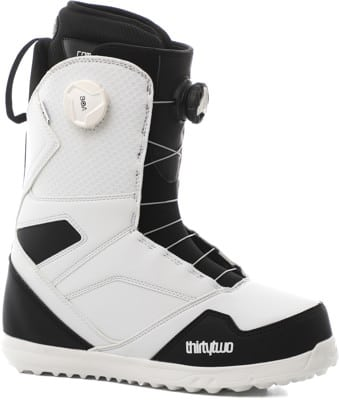 Thirtytwo STW Double Boa Snowboard Boots 2021 - white/black - view large