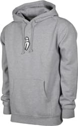 Crab Grab Puff Claw Hoodie - grey heather